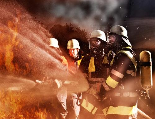 Kellerbrand in einem Hochhaus in Völklingen Wehrden