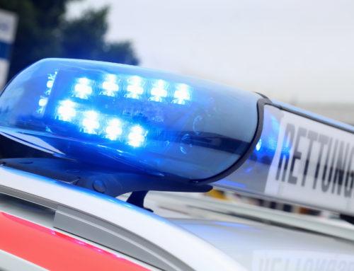Schwerer Verkehrsunfall auf L 170 zwischen den Ortslagen Wallerfangen und Dillingen