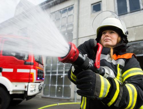 Heckenbrand in Oberlinxweiler