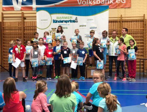 Eurona Holitaj ist die schnellste Grundschülerin