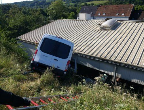 Tödlicher Verkehrsunfall  in der Alleestraße in  Saarbrücken-Altenkessel