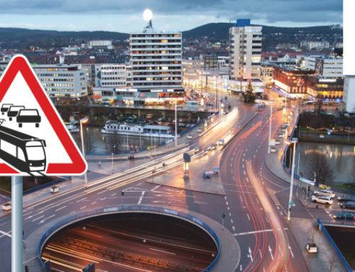 Wilhelm-Heinrich-Brücke: Fertigstellung der ersten Brückenhälfte und Umbau der Baustelleneinrichtung für die Sanierung der zweiten Brückenhälfte ab 14. Juli