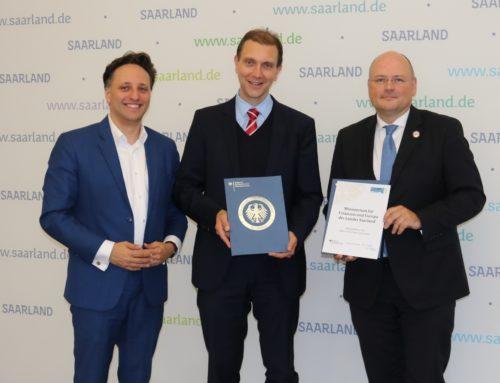 Das Saarland unterzeichnet Kooperationsvereinbarung mit dem BSI und tritt als Multiplikator der Allianz für Cyber-Sicherheit (ACS) bei
