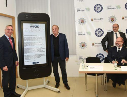 Onlinewache geht an den Start und sorgt für direkten Draht zur Polizei