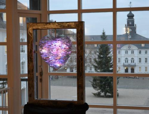 Gläsernes Herz im Mittelbau des Saarbrücker Schlosses